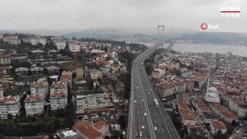 Boğaz köprülerinde trafik yüzde 40, karayollarında yüzde 50 azaldı