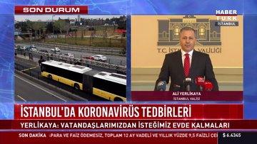 İstanbul Valisi Yerlikaya açıklamalarda bulundu