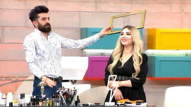 Bilal, Dilek'e saç yapmanın ne kadar zor olduğunu anlattı!
