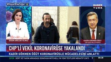 CHP'li eski vekil Kadir Gökmen Öğüt koronavirüse yakalandı