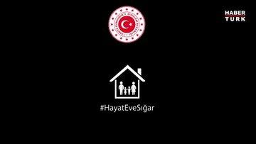 """Çavuşoğlu'ndan """"evde kalın"""" çağrısı!"""