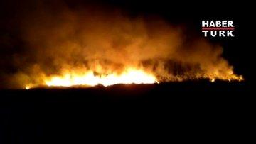 Göksu Deltası Kuş Cenneti'nde yangın