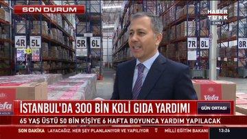 İstanbul'da 50 bin haneye vefa kolileri gönderiliyor