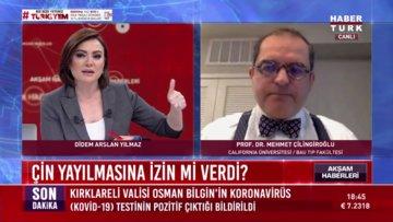 Dünyanın Koronavirüsle imtihanı - California Üniversitesi Prof. Dr. Mehmet Çilingiroğlu