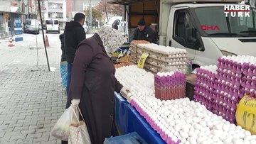 Esenyurt'ta 'Sosyal mesafesiz' semt pazarı