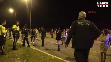 Drift partisine polis baskını