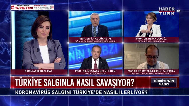 Türkiye'nin Nabzı - 1 Nisan 2020 (Koronavirüs salgını Türkiye'de nasıl ilerliyor?)
