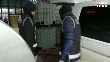 Tekirdağ'da sahte etil alkol üretenlere operasyon: 6 gözaltı