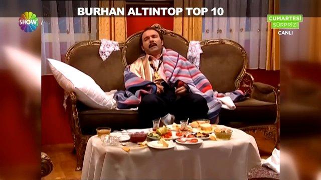 Burhan Altıntop'un en komik 10 hali!