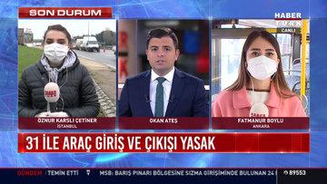 İstanbul'a araç giriş çıkışlar durdu