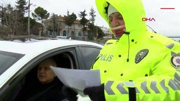 Silivri'den İstanbul'a giriş yapmak isteyenler geri gönderildi