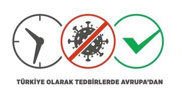 Ülkelerin koronavirüse karşı aldığı tedbirler