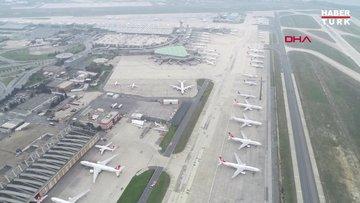 Atatürk Havalimanı'nın geçen hafta çekilen görüntüleri