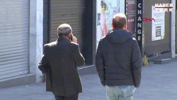 İstiklal Caddesi'nde tokalaşan 3 kişiye ceza