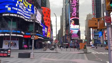 Boş New York sokakları
