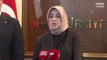 AK Parti Grup Başkanvekili Özlem Zengin'den açıklamalar