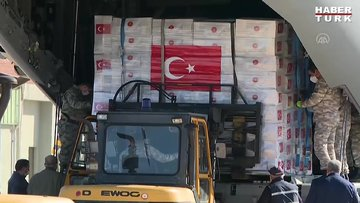 Dünden bugüne Türkiye'nin yardımları
