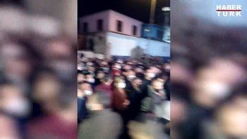 Yasaktan önce Ortaköy'deki kalabalık