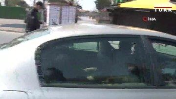 Polis sokağa çıkma yasağına uymayan vatandaşa ceza kesti