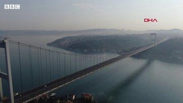 Drone görüntüleriyle İstanbul'da sokağa çıkma yasağının ilk günü
