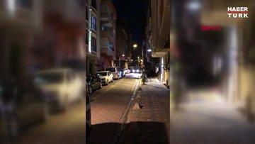 Zeytinburnu'nda polise sürpriz