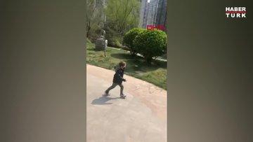 Çin'de duygulandıran görüntü: 78 gün sonra hasret giderdiler