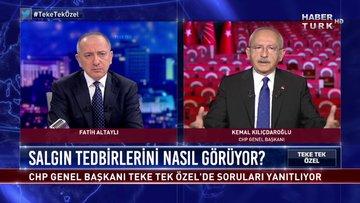 Teke Tek Özel - 12 Nisan 2020 (CHP Genel Başkanı Kemal Kılıçdaroğlu Habertürk'te)
