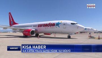 Test uçağı tıbbi malzeme taşıdı