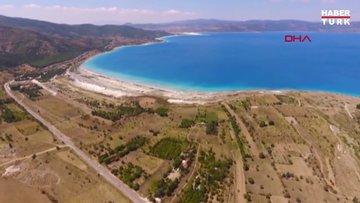 Bakan Kurum'dan 'Salda Gölü' açıklaması