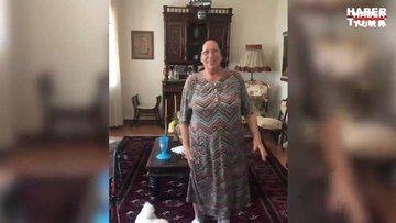 Melek Baykal: Anneciğim egzersizlerini yaptı