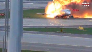 Geçen yıl Rusya'daki uçak kazasının korkunç görüntüleri ortaya çıktı