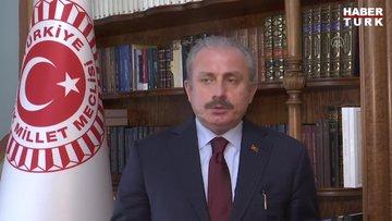 TBMM Başkanı Şentop: '23 Nisan akşamı saat 21.00de bütün vatandaşlarımızı evlerinden İstiklal Marşı okumaya davet ediyorum'