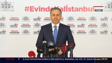 İstanbul Valisi Yerlikaya'dan açıklamalar