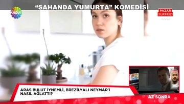"""Sahanda yumurta"" komedisi!"