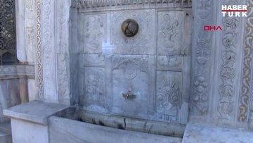 Saliha Sultan Çeşmesi'nde tahribat