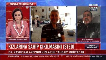 """Dr. Yavuz Kalaycı'nın kızlarını """"AHBAP"""" okutacak"""