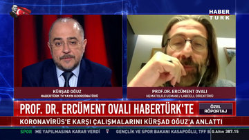 Prof. Dr. Ercüment Ovalı Habertürk'te