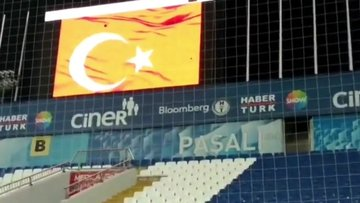 Kasımpaşa'da İstiklal Marşı!