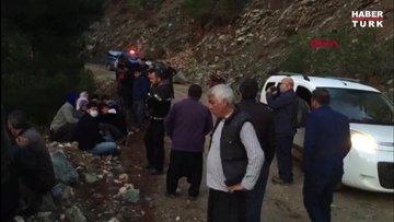 80 metrelik uçurumdan yuvarlanan kamyonetteki çift ve torunları öldü
