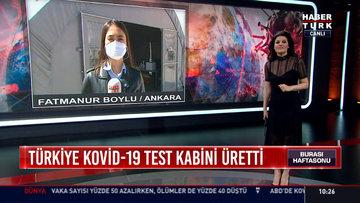 Türkiye Kovid-19 test kabini üretti
