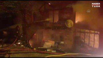 Sakarya'da kahreden yangın: 1 çocuk öldü