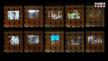 Film geceleri, dans partileri ve balkon konserleri! Dünyanın dört bir yanından karantina görüntüleri