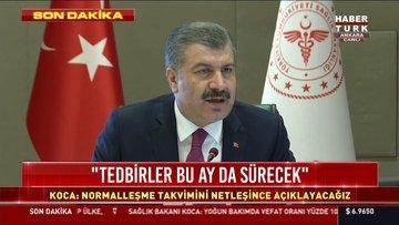 Son Dakika! Bakan Koca: Koronavirüs Türkiye'de pik döneminde