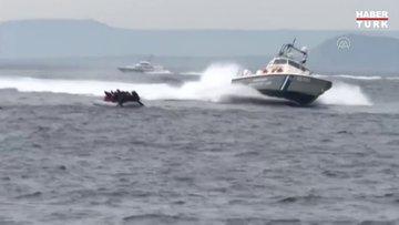 Yunan sahil güvenlik botları bir kez daha insan haklarını ihlal etti