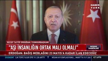 Cumhurbaşkanı Erdoğan AB'nin koronavirüs çalışmaları toplantısına mesaj gönderdi