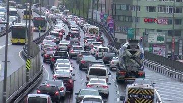 İstanbul trafiğinde uzun süre sonra bir ilk
