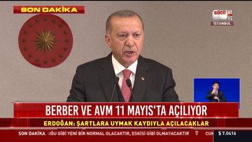 Cumhurbaşkanı Erdoğan: Üniversiteler, 15 Haziran'da akademik takvim dönebilecekler