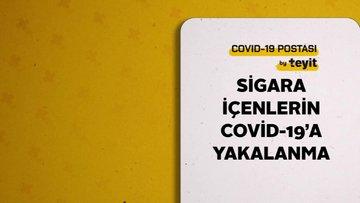 Sigara içenlerin Covid-19'a yakalanma ihtimalinin az olduğu iddiası