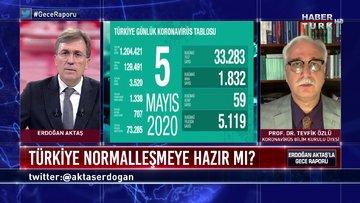 Gece Raporu - 5 Mayıs 2020 (Türkiye normalleşmeye hazır mı?)