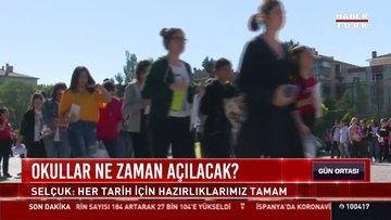 Son dakika haberi! Bakan Selçuk'tan okullar ne zaman açılacak sorusuna yanıt!